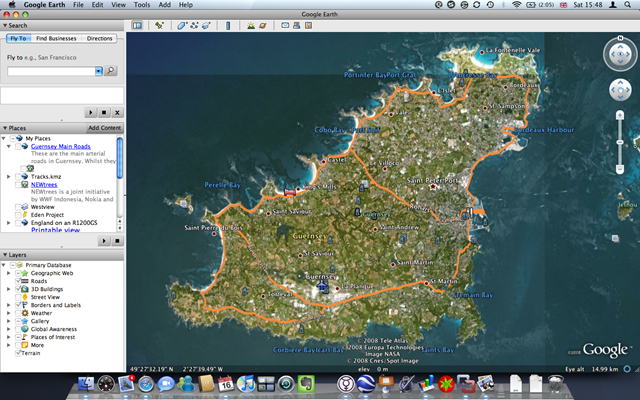 Garbage Island Pacific Ocean Google Maps